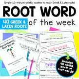 Root Word Activities