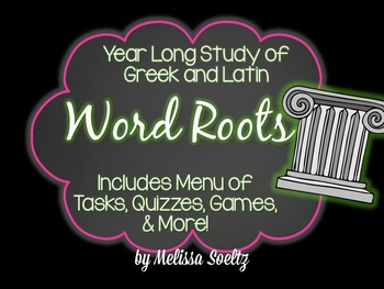 Greek and Latin Root Word Assignment