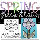 Greek and Latin Root Word Flowers