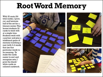 Greek and Latin Root Word Games: Hands-on Learning