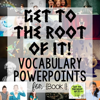 Greek and Latin Root Words PowerPoints {Book 1}