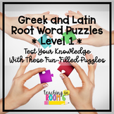 Greek and Latin Roots Puzzles Level 1