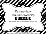 Greek and Latin Root Word Vocabulary Bundle
