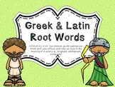 Greek and Latin Root Words Common Core