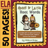 Greek and Latin Root Words Complete Pack!