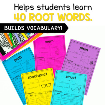 Greek and Latin Root Words Posters