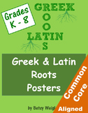 Greek and Latin Root and Affix Posters for Vocabulary Development