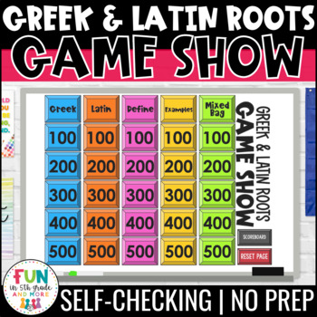 Latin Roots Games 20