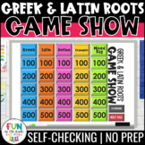 Greek and Latin Roots Game Show | PowerPoint Game | Test Prep Review Game