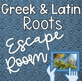 Greek and Latin Roots 5th and 4th Grade Digital Breakout E
