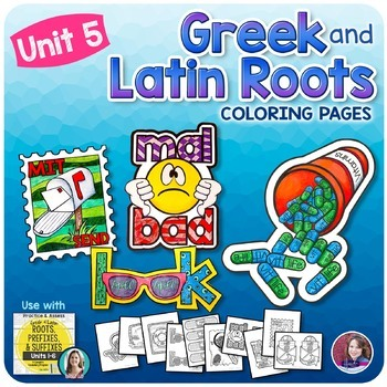 Greek and Latin Roots Activities - UNIT 5