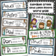 Greek and Latin Roots Activities Word Wall Matching Game Editable Bundle