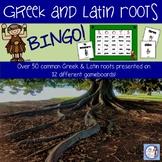 Greek and Latin Roots BINGO game (intermediate grades)