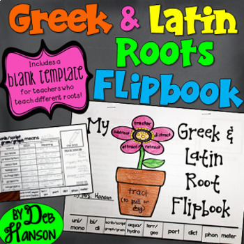 Greek and Latin Roots: A Bundle of Activities