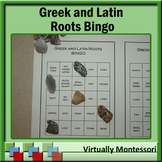 Greek and Latin Roots Bingo