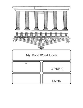 Greek and Latin Roots Booklet