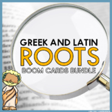 Greek and Latin Roots Boom Cards Bundle | Boom Learning |