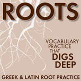 Greek & Latin Roots Practice for High School, Prefix, Suffix, Roots Worksheets