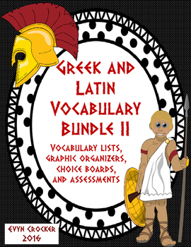 Greek and Latin Roots Bundle 2 (Units 4, 5, 6, and 7)