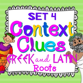 Greek and Latin Roots Cards