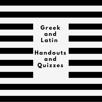 Greek and Latin Roots - Common Core Aligned