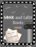 Greek and Latin Roots Foldable