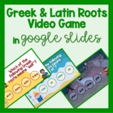 Greek & Latin Root Words Game 8th Grade, 7th, & 6th Grade