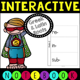 Greek and Latin Roots Interactive Notebook- 4th and 5th