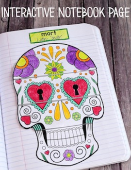 Greek and Latin Roots: Interactive Vocabulary Notebook {Mort}