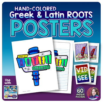 Greek and Latin Roots POSTERS Bundle