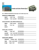 Greek and Latin Roots Quiz