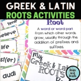 Greek and Latin Roots Review Bundle (CCSS Reading:Foundational Skills)