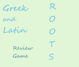 Greek and Latin Roots Review Game Lesson Plan