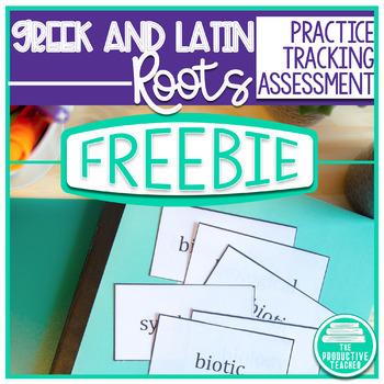 Greek and Latin Roots - Sample Freebie