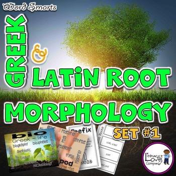 Greek and Latin Root {Set #1}