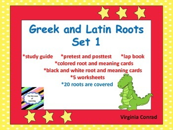 Greek and Latin Roots:  Set 1