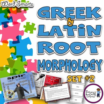 Greek and Latin Roots {Set #2}