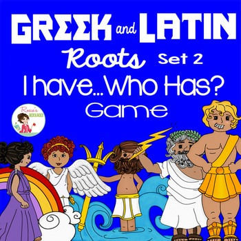 Greek and Latin Roots Set 2