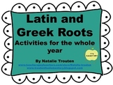 Greek and Latin Roots Super Pack
