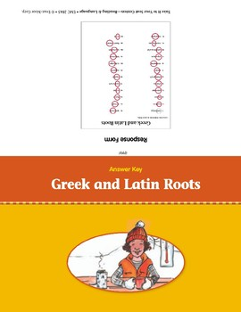 Greek and Latin Roots (Take It to Your Seat Centers)
