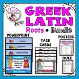Greek and Latin Roots PowerPoint Bundle