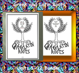 Greek and Latin Roots Units 1-12 Bundle