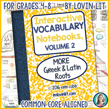 Greek and Latin Roots: Vocabulary Activities, VOLUME 2 (Supplement)
