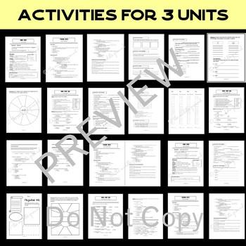 Greek and Latin Roots Vocabulary Bundle - Common Core - STAAR - PARCC - SAT