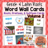 Greek and Latin Roots Word Wall Cards for Volume 2 Printables