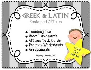 Greek and Latin Roots and A... by Mary Dressel | Teachers Pay Teachers