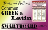 Greek and Latin Roots and Affixes Common Core  Language Smartboard File