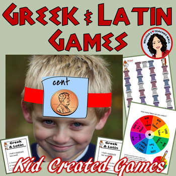 Greek and Latin Roots, Student Created Games