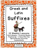 Suffixes Greek and Latin