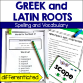 Greek and Latin Roots Spelling and Vocabulary